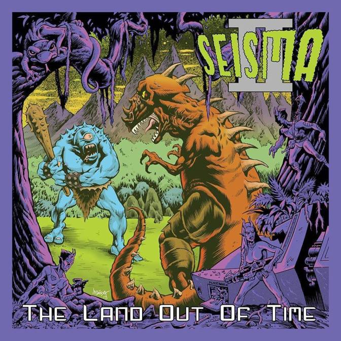 Album Reviews//SEISMA//SEISMA II The Land Out Of Time