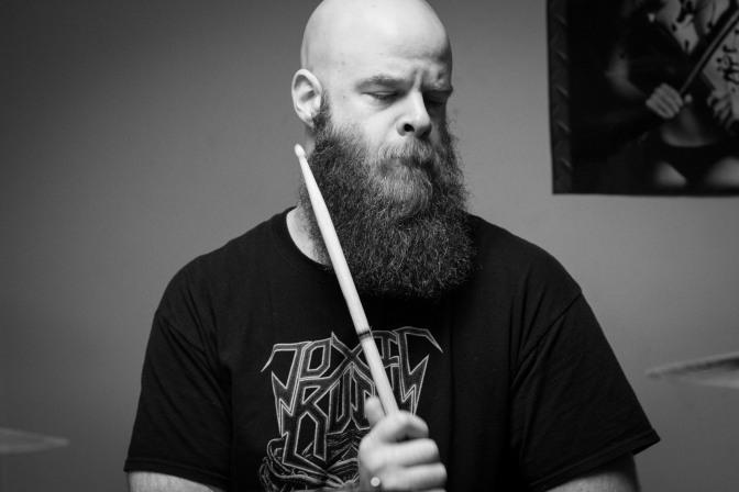 "Gear-view Mirror// All Kings Fall Drummer Jonathan ""The Icelander"" Nicewander"