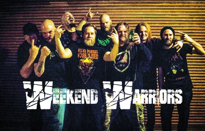 Weekend Warriors//Metal Interviews//An Evening With MORBID SAINT