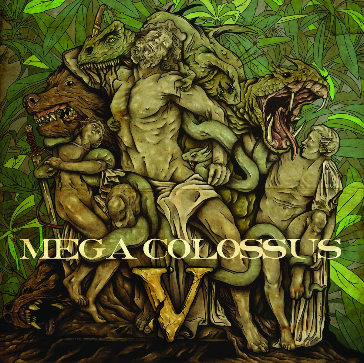 EXTENDED PLAY: Mega Colossus Fifth Studio Record, 'V'