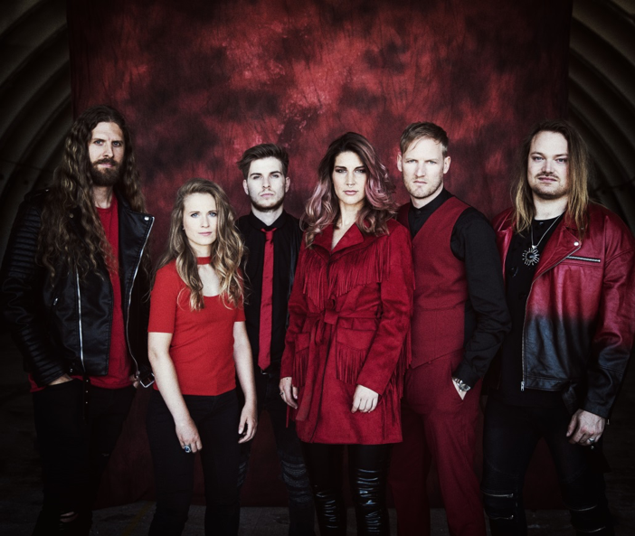 "Maehem News: DELAIN  Release Official Video For ""Masters Of Destiny"""