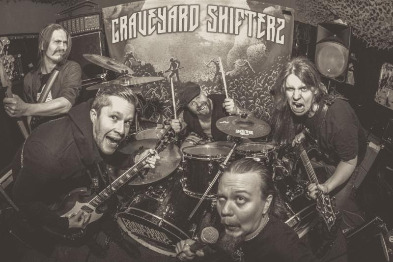 Maehem News:  GRAVEYARD SHIFTERS Release 'Welcome to Sherwood'EP