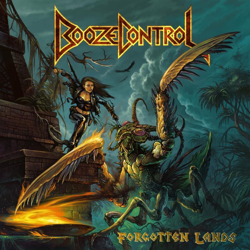 Album Review: BOOZE CONTROL-'Forgotten Lands'