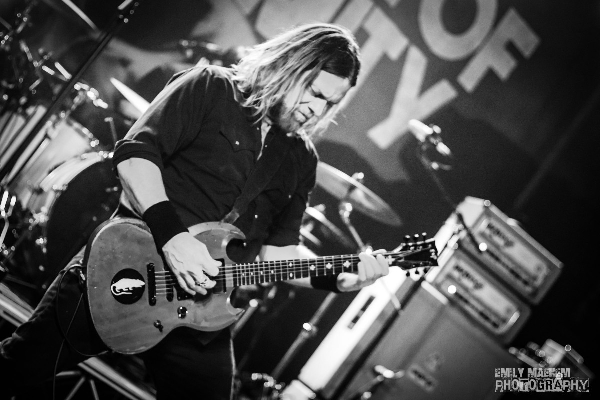 The Stage: The Q & Z CORROSION OF CONFORMITY +Supports