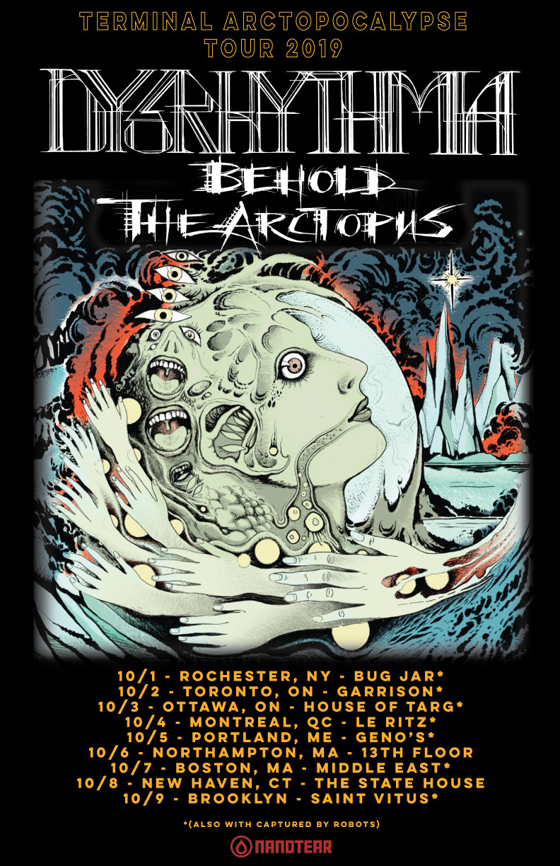 Maehem News: BEHOLD THE ARCTOPUS Now On Tour; Performing Upcoming Album Live