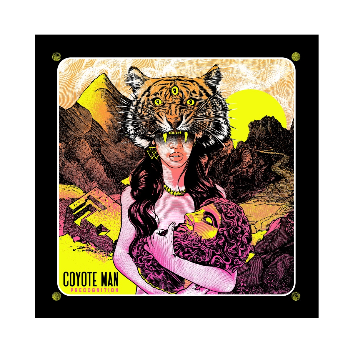 Album Review: COYOTE MAN 'PRECOGNITION'